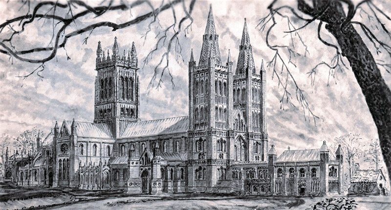 Glastonbury Abbey Reconstructed